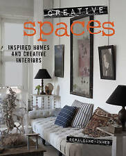 (Good)-Creative Spaces: Inspired homes and creative interiors (Hardcover)-James,