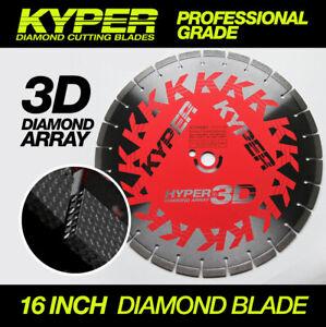 16 INCH KYPER HYPER 3D CONCRETE CUTTING DISC FOR DEMO SAW