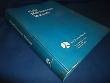 NORTH AMERICAN ROCKWELL FIELD MAINTENANCE MANUALS BOOK