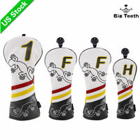 Golf Headcover Driver Fairway Hybrid Wood Club Head Cover Fit Taylormade PXG New