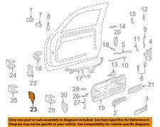 GM OEM Front Door-Hinge Assembly Left 88979795