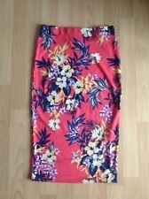 Floral Summer Pencil Skirt Size 8