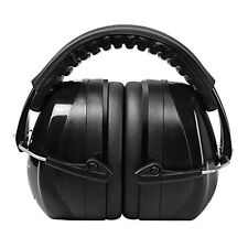Earmuffs Ear Protectors Shooting Hunting Racing Noise Canceling Safety Black
