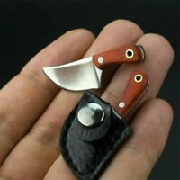 With Box Mini Butcher Knife Stainless Steel Super SO CUTE Neck Knife Pendant new
