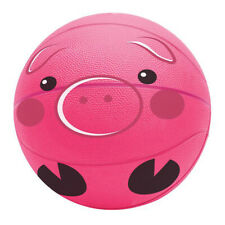 """9.5"""" Pink Pig Basketball Toys Balls Sports Collectibles Gifts Prizes"""