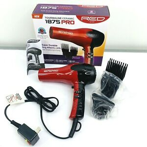 New Tormaline Ceramic 1875 PRO RED by Kiss 3 Attachments           SR