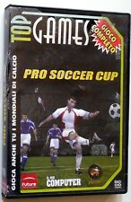 TOP GAMES PC CD ROM PRO SOCCER CUP FUTURE MEDIA CALCIO