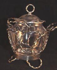 Coles & Fryer Birmingham England Electroplate Condiment Jar Circa 1901