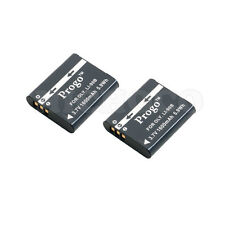 2 (Two) Progo Li-90b Battery 1600mAh For Olympus XZ-2, SH-50, Tough TG-1 , TG-2