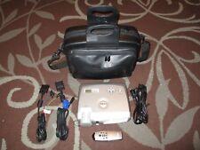 Dell DLP XGA Home Theater Projector Model 3300MP w/ Remote Cables & Case