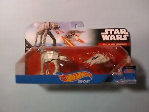 Star Wars  Hot Wheels  AT-AT Vs. Rebel Snowspeeder Set