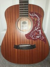 More details for tanglewood winterleaf tw2t acoustic travel guitar with fitted gig bag.