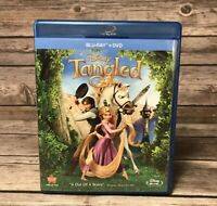 Tangled (Blu-ray/DVD, 2011, 2-Disc Set) Disney Animation