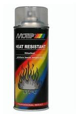 MOTIP CLEAR LACQUER SPRAY PAINT HEAT RESIST 400ML - M04033