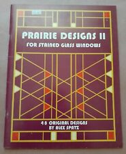 Prairie Designs Ii: For Stained Glass Windows by Alex Spatz