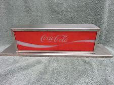 Vintage Coca-Cola Coke Soda Fountain Machine Lighted Topper Light Sign