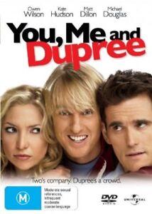 You, Me and Dupree DVD Matt Dillon, Kate HUDSON, Owen Wilson