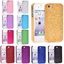 Glitter Bling sparkle Hard Case Back Cover for iPhone 5 5s Green LED