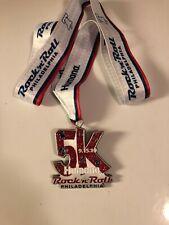 Rock N Roll Marathon Medal  Philadelphia 5K 9/15/19