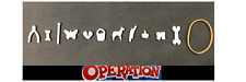 Operation Game Replacement Pieces & Parts Complete Set of 12 Funny Ailments