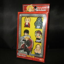 Fullmetal Alchemist mini Figure 5 pcs Edward, Alphonse, Roy, Winry, Armstrong
