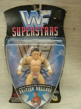 Jakks Wwf / Wwe Superstars British Bulldog Davey Boy Smith Action Figure 1996
