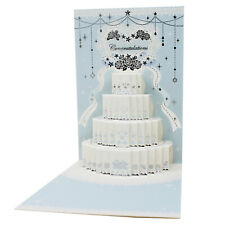 Best Day Ever Wedding Laser Cut Pop Up Card