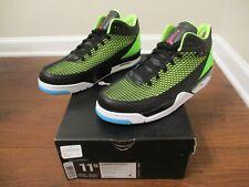 BNIB Size 11.5 Nike Air Jordan Flight Club 80's Shoes Black, Club Pink, Lime