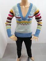 Maglione ONLY Donna Taglia Size M Sweater Woman Pull Femme Maglia Lana P 7339