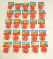 25 NEW RED FOAM CLOWN NOSES CIRCUS CLOWNS COSTUME ACCESSORY KIDS PARTY FAVORS