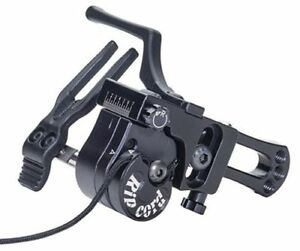 New Ripcord MAX Micro Adjust Fall Away Compound Archery Arrow Rest LH Black
