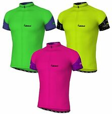 New Men's Short Sleeve Cycling Jerseys Bicycle T-Shirts Biking Racing Team Tops