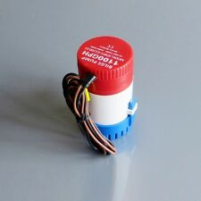 12V 1100Gph Bilge Pump 2m3/h small Dc Submersible water pump