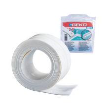 Guarnizione PVC bianca adesiva sigillante lavelli sanitari removibile 450/40
