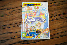 Jeu VACATION ISLE BEACH PARTY sur Nintendo Wii NEUF sous blister VF