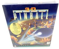 3D ULTRA PINBALL Windows 95 3.1 CD SEALED BRAND NEW GAME PIN BALL Space fastest