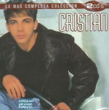 Cristian Castro CD NEW La Mas Completa Coleccion SET Con 2 CD's 30 Canciones !
