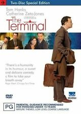 The Terminal: Single Disc edition (DVD, 2005) Brand NEW Sealed Free Shipping  R1