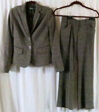 7th Avenue Pant Suit 0 Multi Color Wear to Work