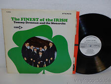 TOMMY DRENNAN AND THE MONARCHS The Finest Of The Irish PROMO LP Decca DL 74923