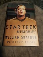 Star Trek Memories by William Shatner (1993, Hardcover)