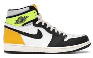 Brand New Nike Air Jordan 1 High Top Volt Gold 555088-118 Size 11