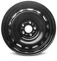 39 Black Steel Wheel Rim 5X114.3 5x4.5 17X6.5 QTY 1