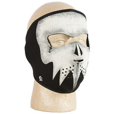 Tactical Neoprene Warm/Cold Weather Face Prot Adjustable Glow in Dark Skull Mask