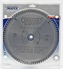 Draper Expert 09490 TCT Saw Blade 250 X 30mm  x 80T NEG
