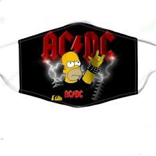 ACDC Homer Simpson Face Mask 3D One Size