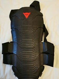 Dainese Manis D1 55 Motorcycle Motorbike Back Protector Strap on size M