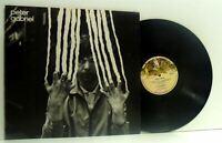 PETER GABRIEL self titled 2 (scratch) LP EX+/EX, CDS 4013, vinyl, & lyric insert