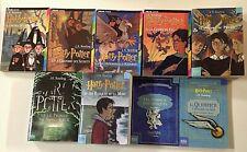 HARRY POTTER tomes 1 à 7 Quiditch animaux fantastiques J.K ROWLING roman 9 livre