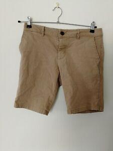 Short Chino Asos Homme Taille 30 W30 Beige Slim